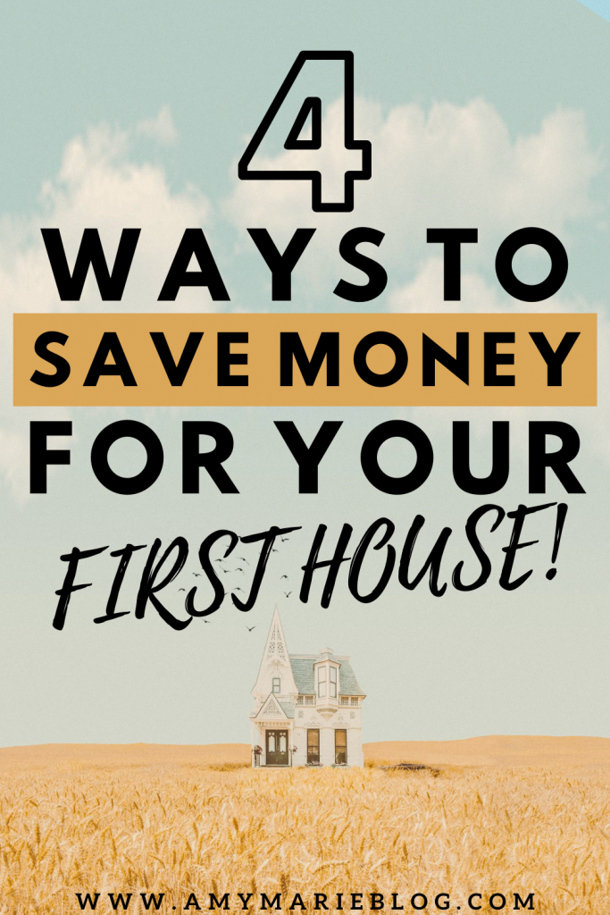save money to buy a house