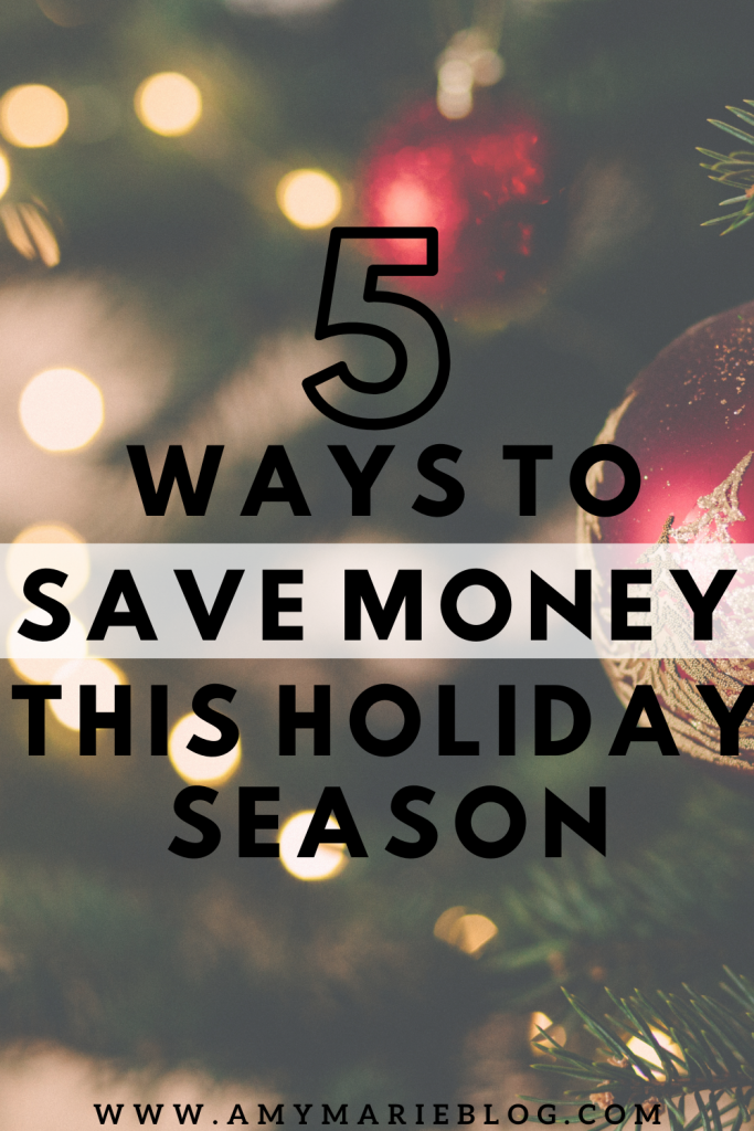 save money for the holidays